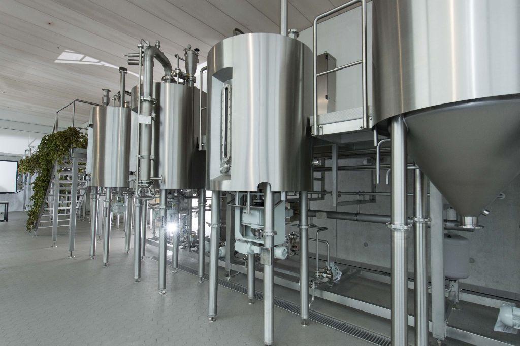 Eigenes Technikum rund ums Bier