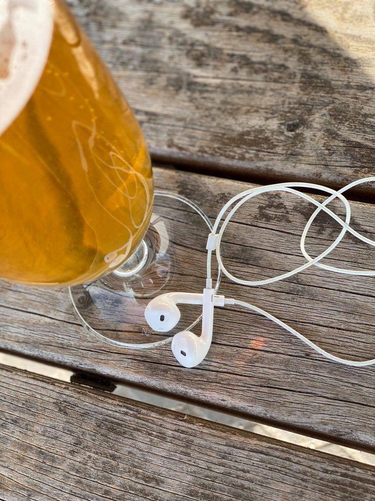 Bier im Ohr