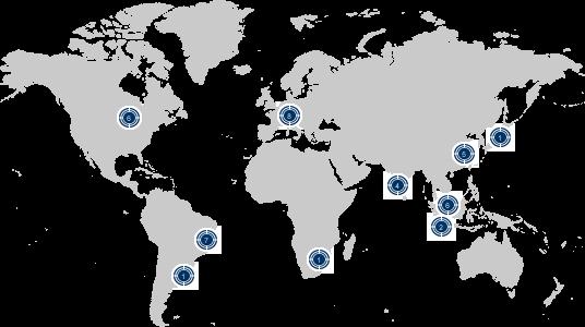 Zur Krones Weltkarte