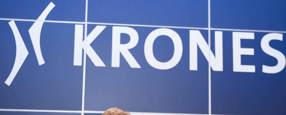 Krones'  Executive Board member responsible for sales with a euphoric half-time verdict