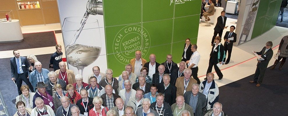 """Magnificent"": Krones' ""Pensioners' Club"" visits the drinktec"