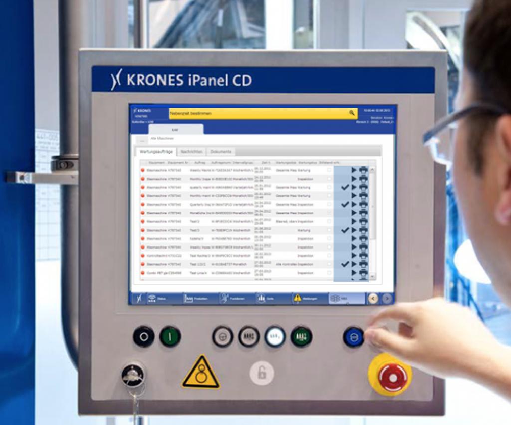 KAM (KRONES Asset Management):  Effizientes Wartungs- und Instandhaltungsmanagement für unsere Kunden