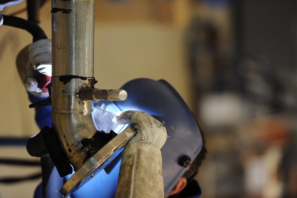 Der heißeste Job bei der Krones AG – Anlagenmechaniker Schwerpunkt Schweißtechnik