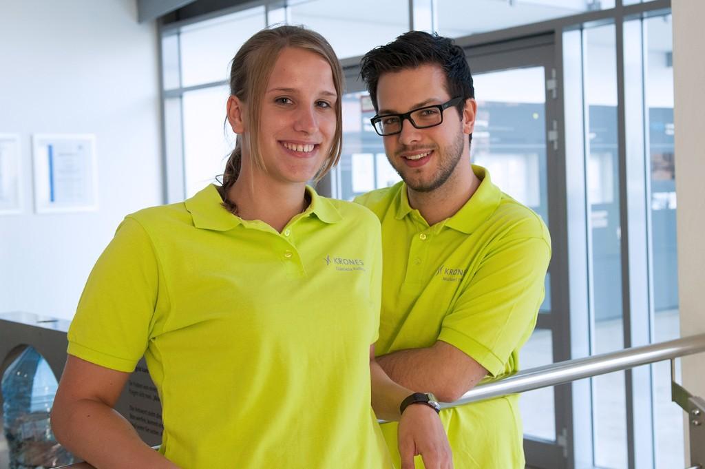 Trainee at fair Team HR: Daniela und Michael wollen's wissen!