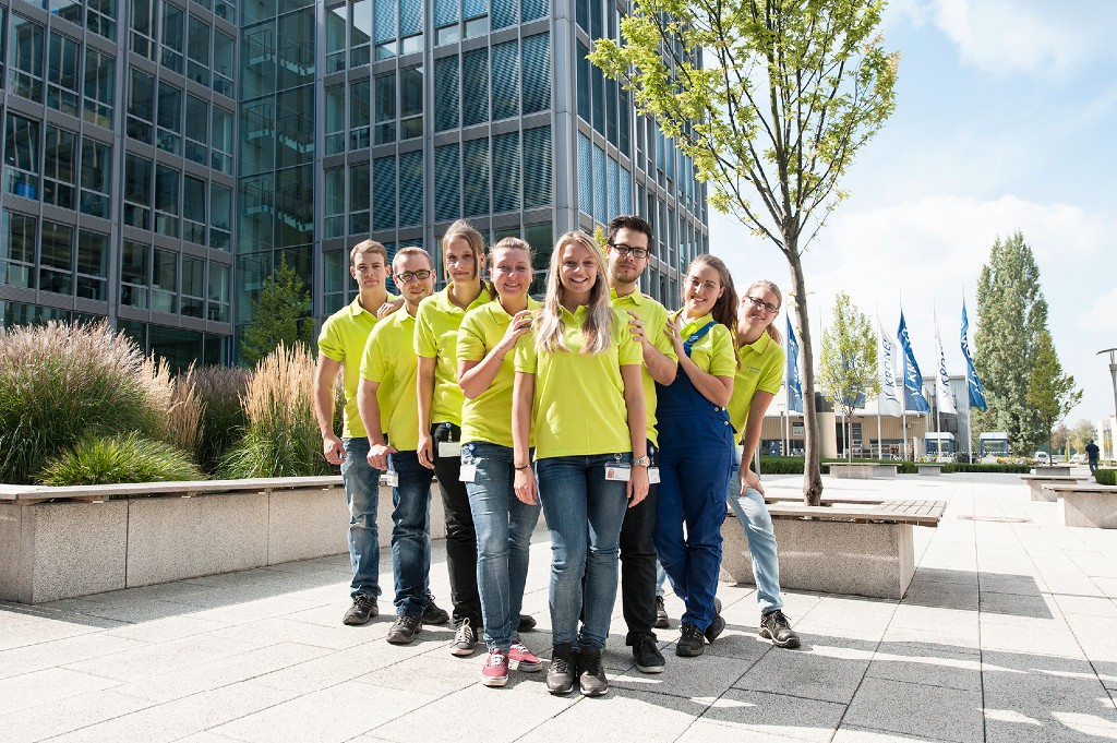 Trainee at fair: Mission BrauBeviale 2014 oder 4×2 = 8same Auszubildende