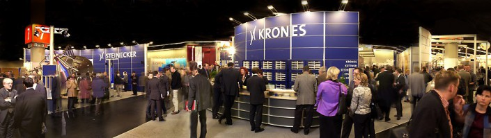 Krones' stand at the BrauBeviale
