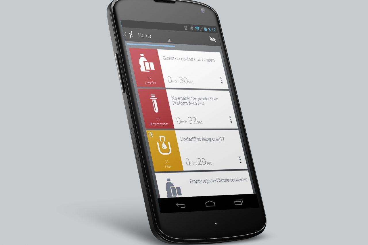 Krones' Mobile Line Assistant