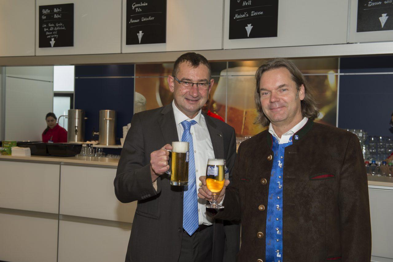 """""""Gans"""" regionale Biere in Halle 7A"""