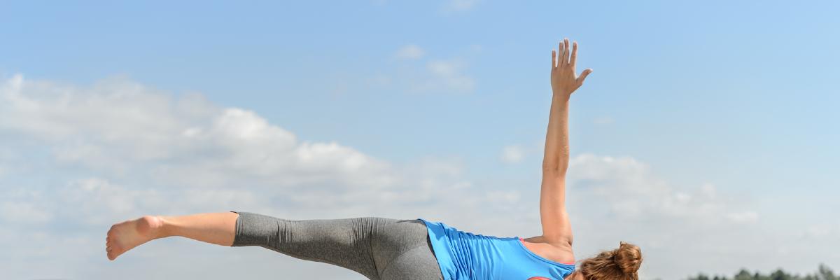 Muskelkater und Entspannung auf 1,5 m²