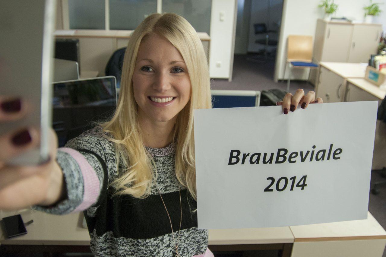 """""""But first let me take a selfie""""- die Selbstportraitaktion auf der BrauBeviale 2014"""