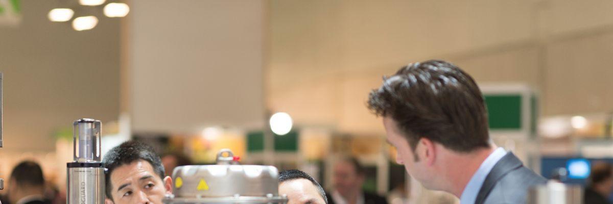 Anuga FoodTec 2015: Bilder des Tages – Tag 1