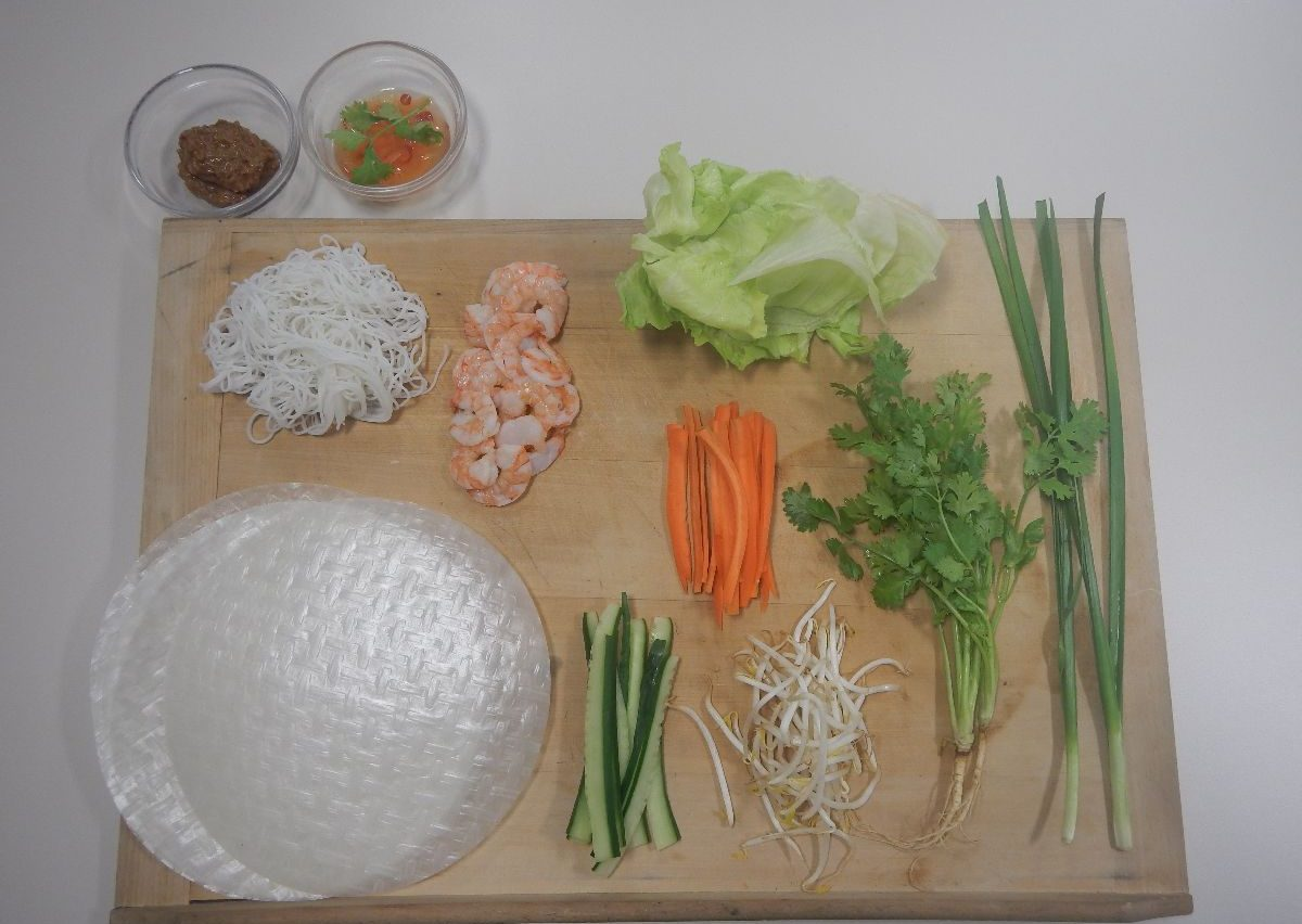 The dream of summer comes deliciously true: Vietnamese summer rolls