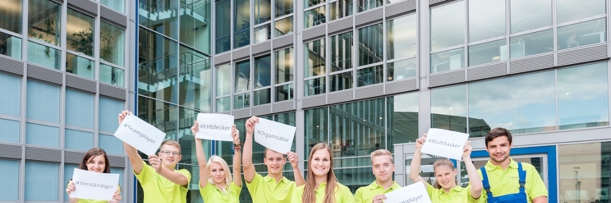 Charakterköpfe fragen nach: Trainee at Fair 2015