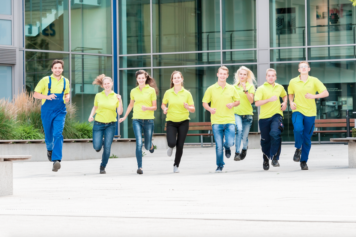 The countdown is running: Trainees at Fair 2015