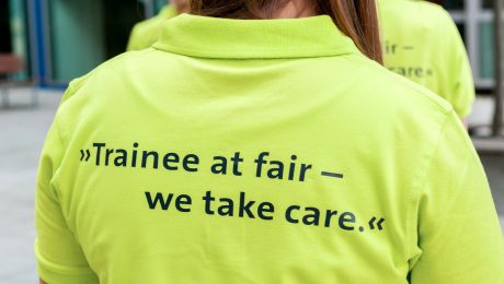 The green thread: Trainee at Fair 2015