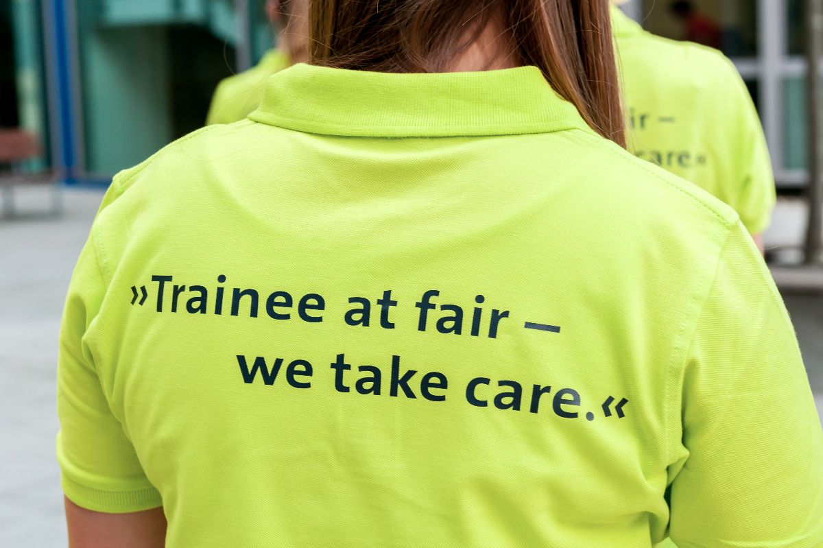 Der grüne Faden: Trainee at Fair 2015