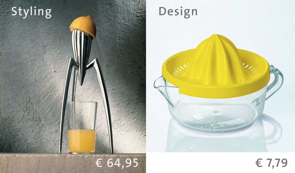 Why your lemon-squeezer looks gorgeous and mine works properly