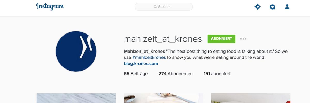 Mahlzeit @ Krones