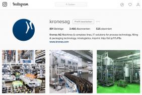 Krones AG auf Instagram