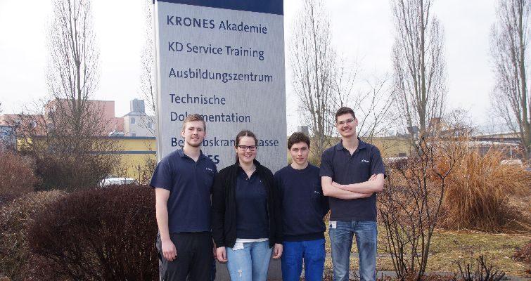 """Neutraublinger Azubis unterwegs mit """"Erasmus+"""""""