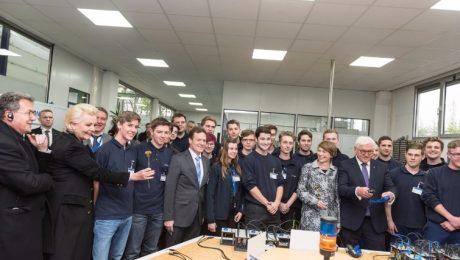 Hoher Besuch: der Bundespräsident zu Gast in Rosenheim