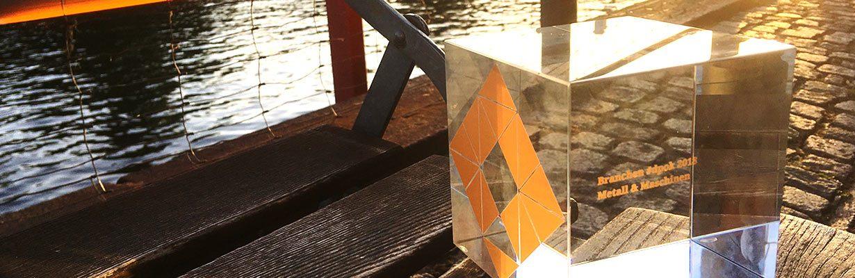 #dpok-Award für das Krones Website-Konzept