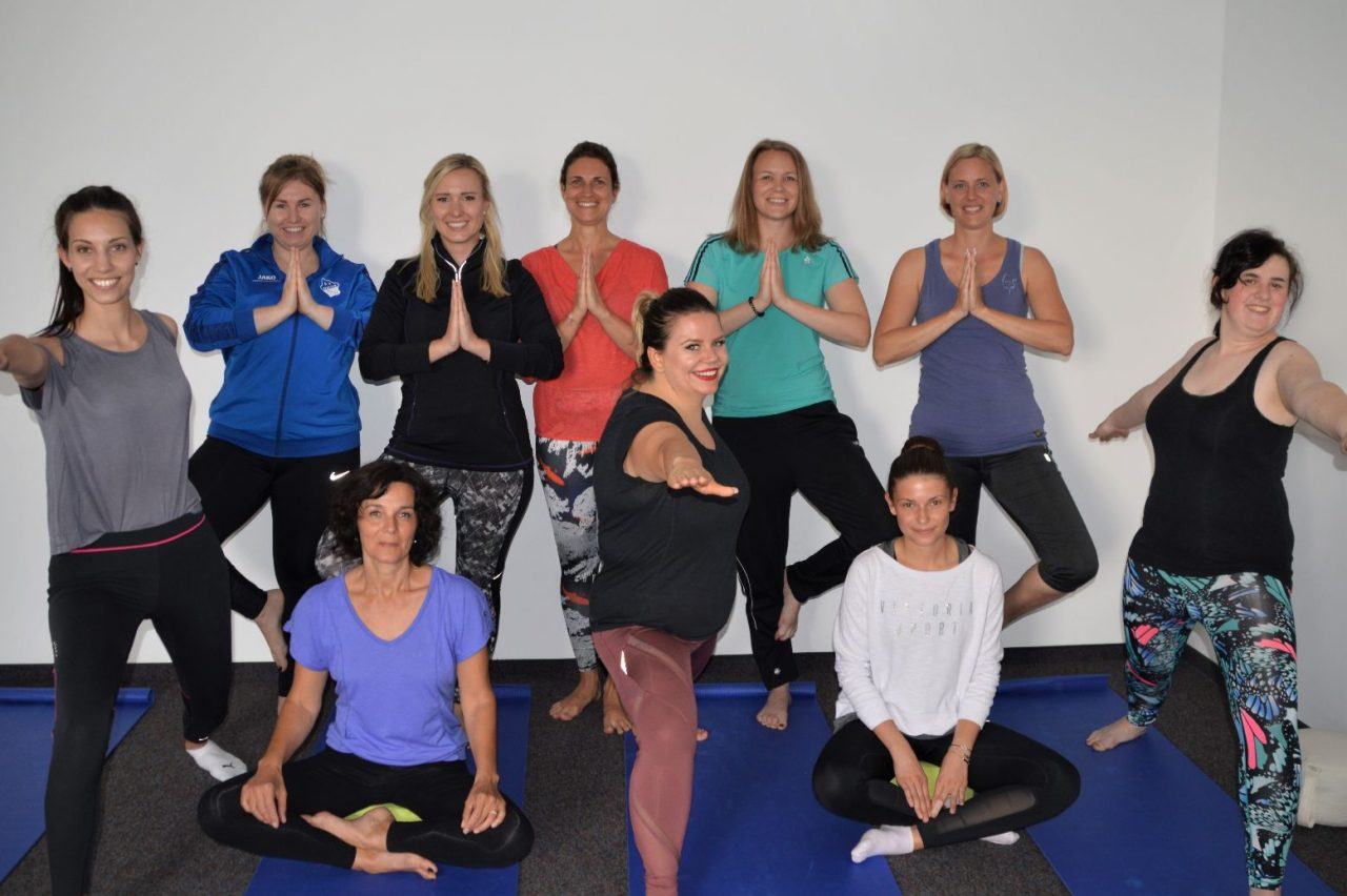 After-Work-Yoga bei der Krones BKK – fit und entspannt in den Feierabend