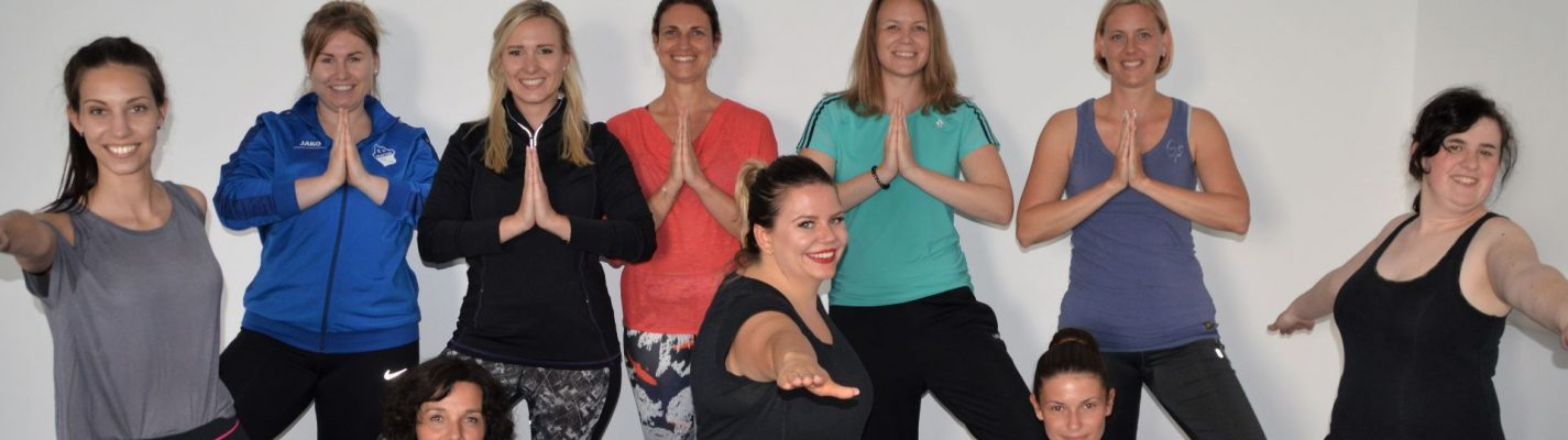 After-work yoga with the Krones health insurance scheme (BKK) – so you can start your evening fit and relaxed