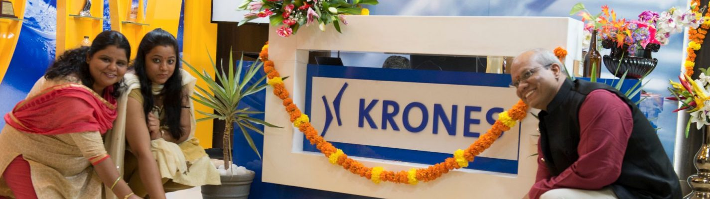 Krones India: so far away – but yet so near