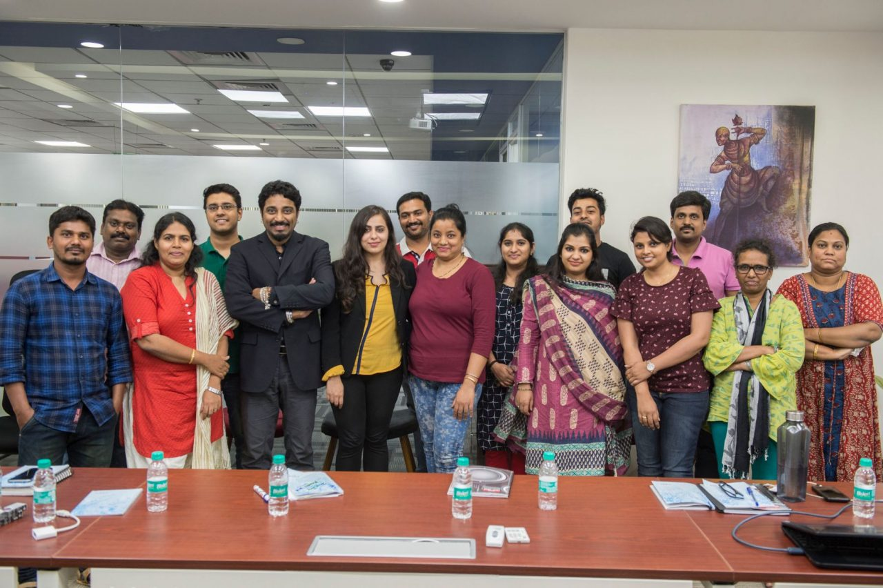 A day at Krones India about Corporate Etiquette and life skills