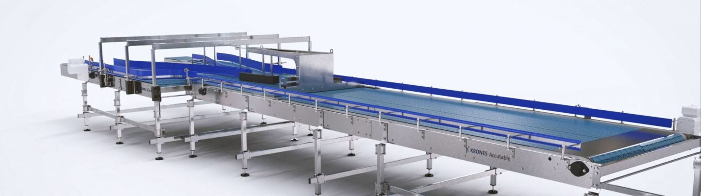 The container conveyor that focuses on operator safety