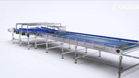 Der Behältertransporteur mit Fokus auf Bedienersicherheit