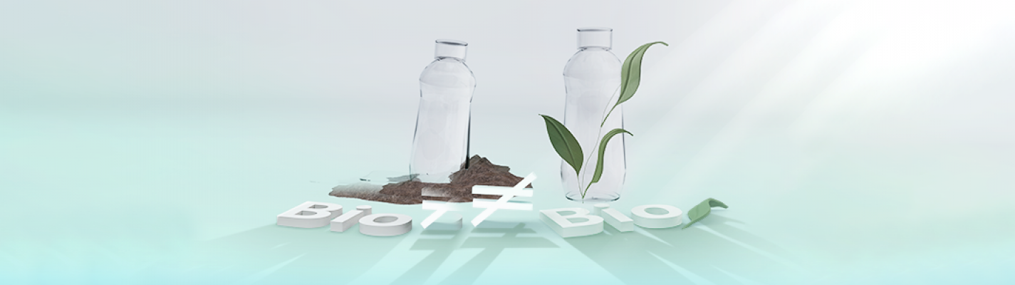 Fact check No. 3: the complicated matter of bio plastics