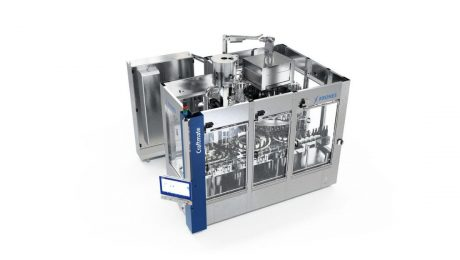 Compact-size glass filler Craftmate G for beer and CSDs