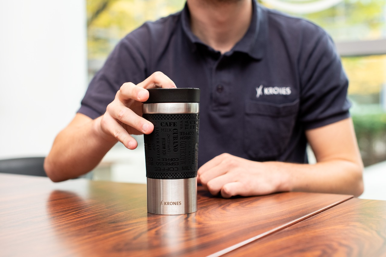 Bestseller: environmentally-friendly thermal mug